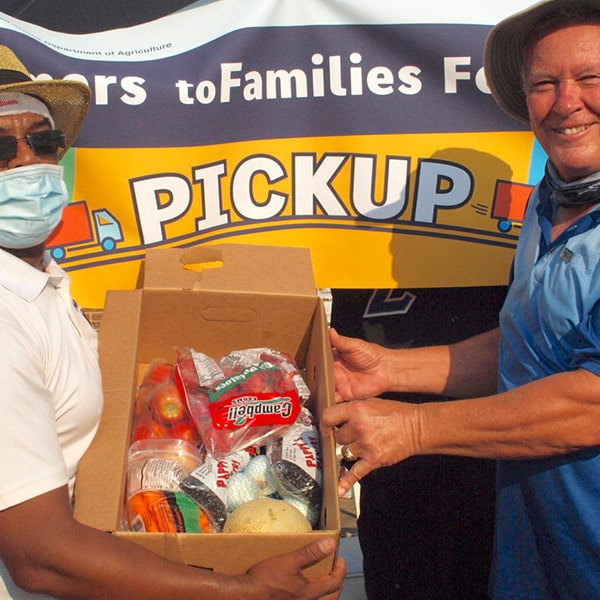 Campbell Farms supplies potatoes to local food bank
